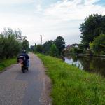 Fietspad langs de IJssel bij Nieuwegein