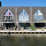 Wonen aan het water in de Oranje Nassaukades in IJsselstein
