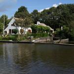 De Hollandse IJssel net buiten IJsselstein