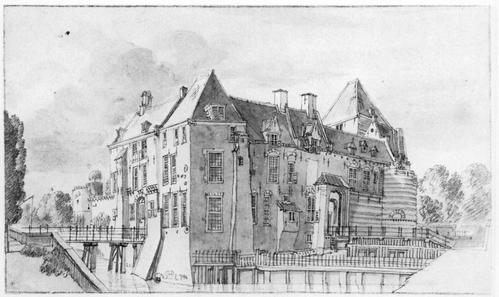 Tekening Jan de Beijer, omstreeks 1745