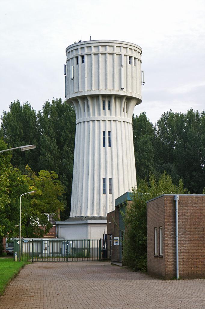 De watertoren van Nieuwegein